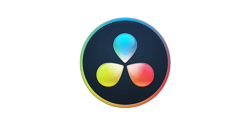 DaVinci Resolve Logo Colorgrading